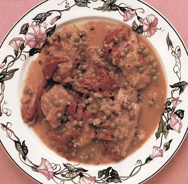 Palometa frita en salsa