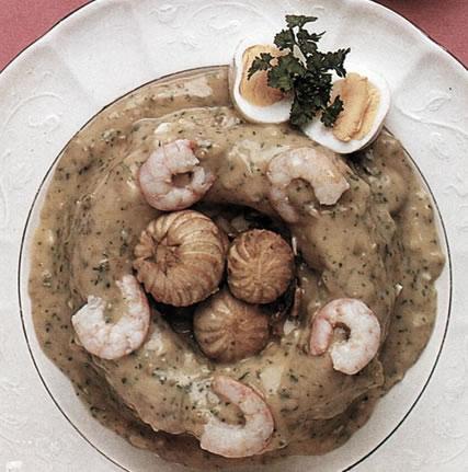 Rosca de pescado con arroz