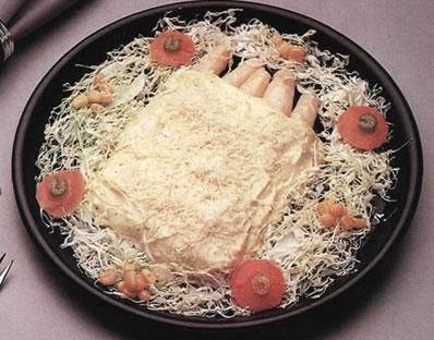 Espárragos al queso