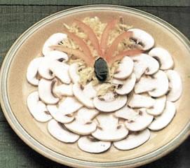 Ensalada de champiñones
