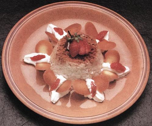 Budin de arroz con vainilla