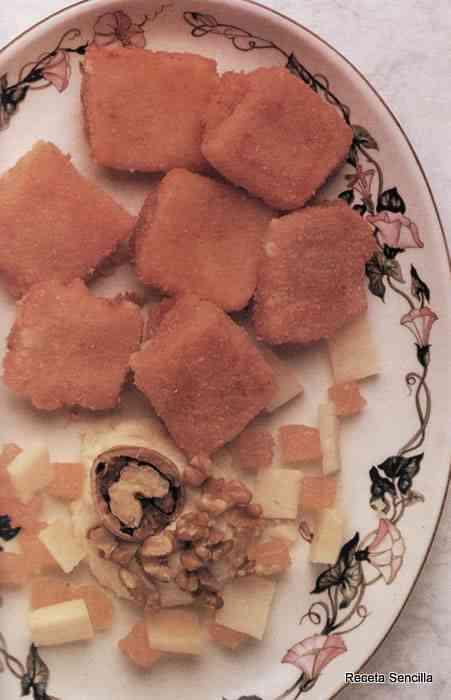 Delicias de membrillo y queso